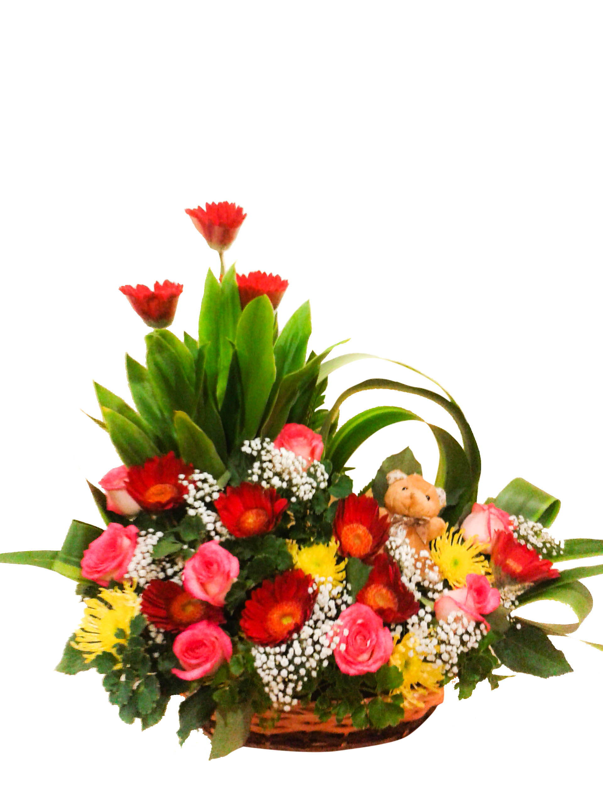 Fresh Flower Basket D Amp E Florist